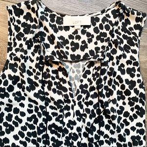 LOFT Leopard Print Blouse